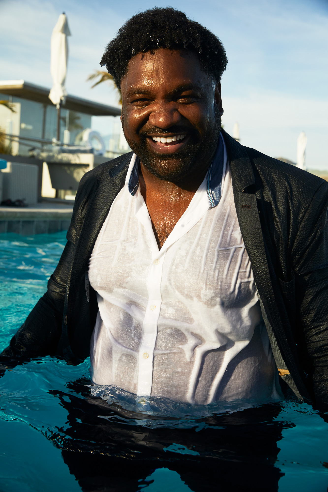 hbo ballers carl mcdowell photographed in los angeles by jeff nelson