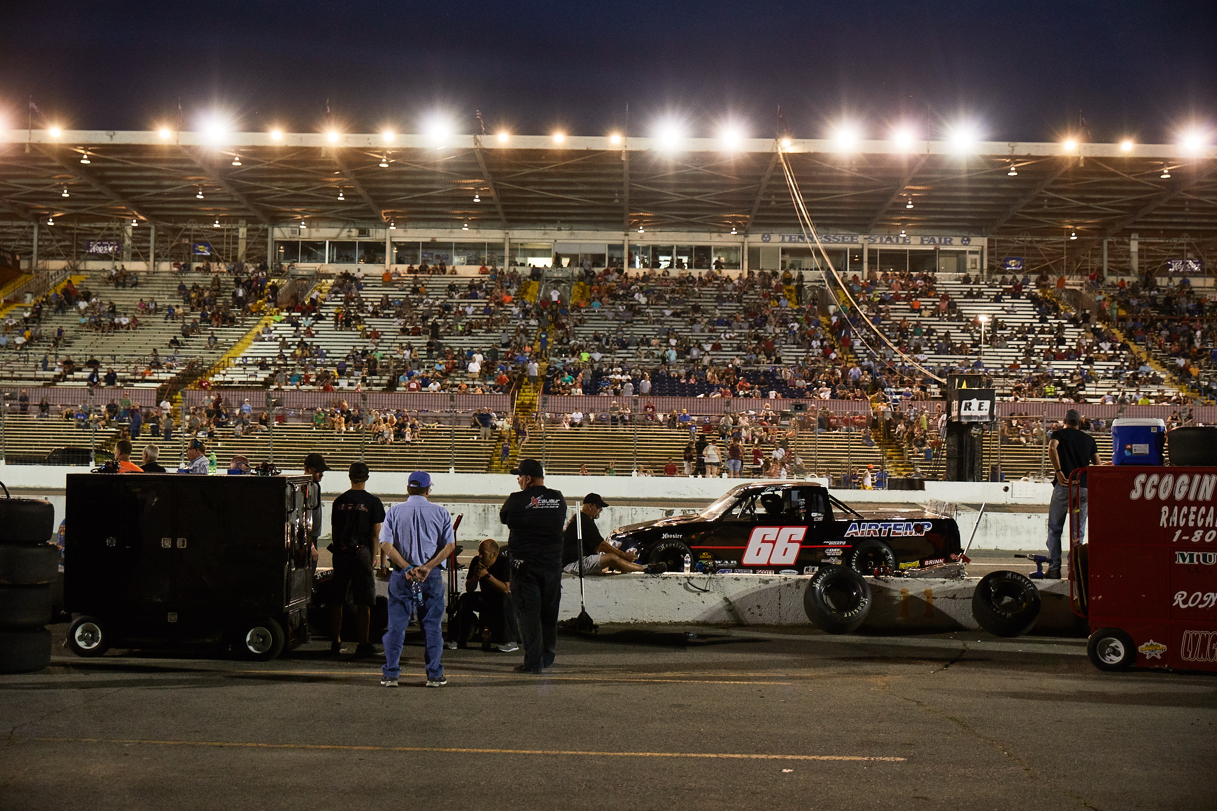 Nashville speedway race night